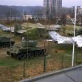 A l'extérieur du musée sur la guerre de Corée