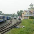 DZD d'Irkoutsk, gare et matériel roulant