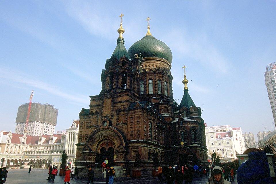 Eglise orthodoxe russe à Harbin