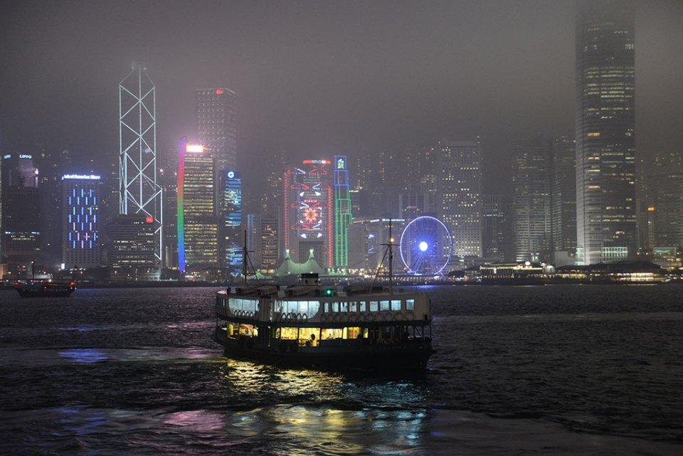 Hong Kong Island depuis Kowloon