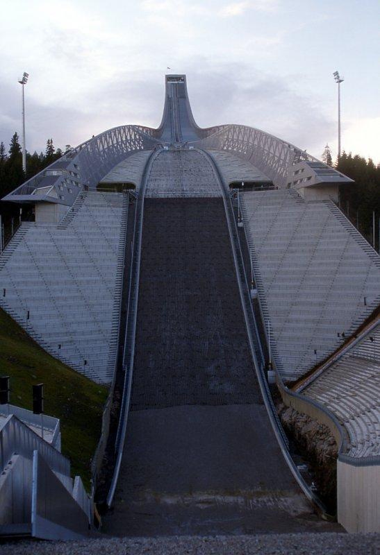 Tremplin de saut à ski de Holmenkollen (Oslo)