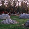 Dans le parc du Temple Céleste