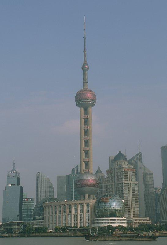 Pudong depuis le Bund