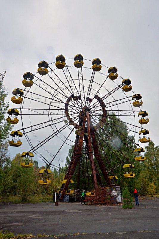 La fameuse grande roue