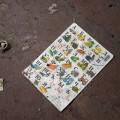 Au sol du Kindergarten