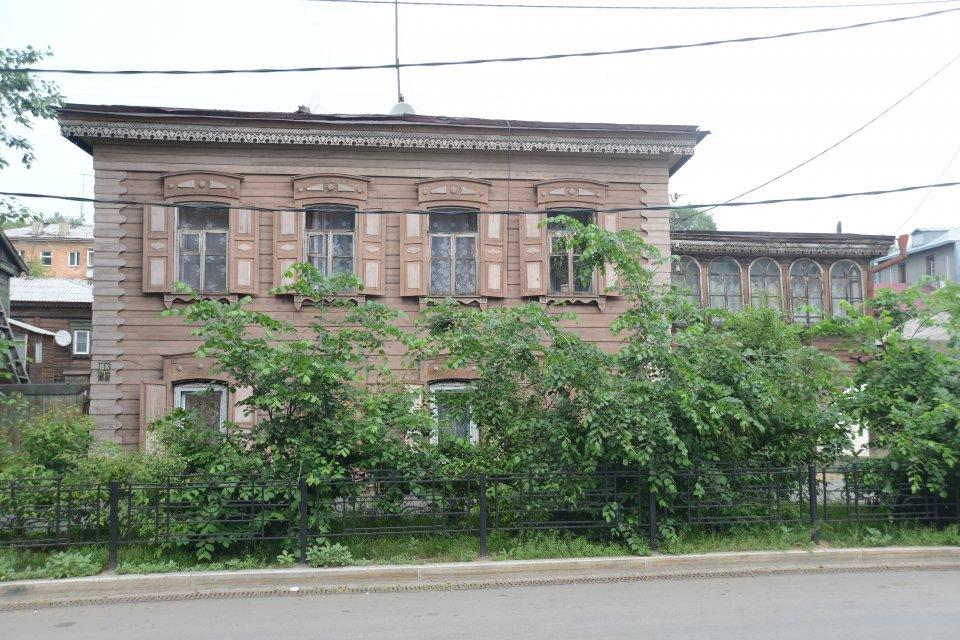 Maison en bois, Irkoutsk