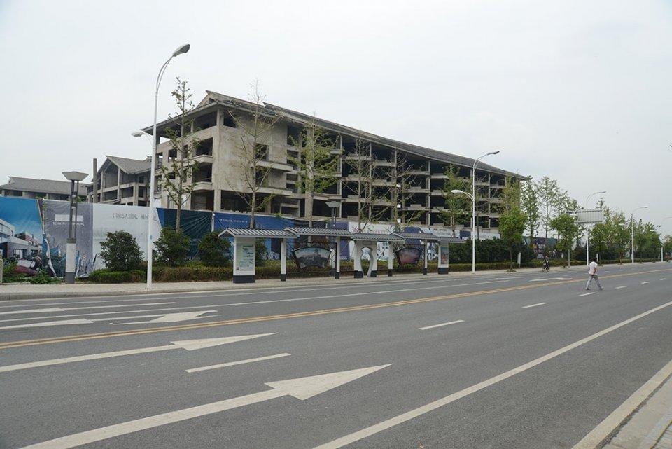 Grand hôtel, lac Tai